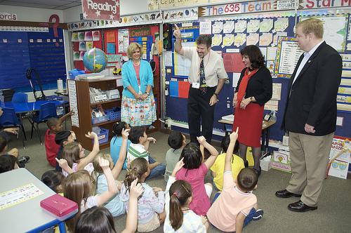 Kids hit the books at Seoul American Elementary School